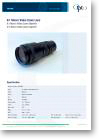 6:1 Macro Video Zoom Lens