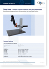 043-600235 Tilting Stand for highly ergonomic inspection