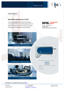 Newsletter-Icon zur SPIE