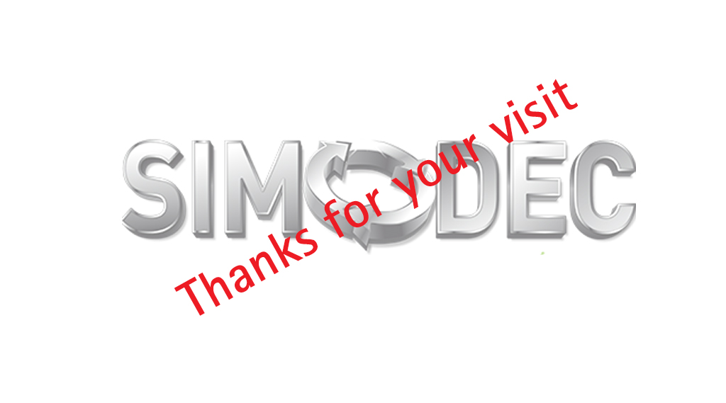 simodec - thanks